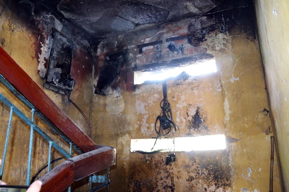Cháy do chập điện, Ngô Quyền, TP Bắc Giang)