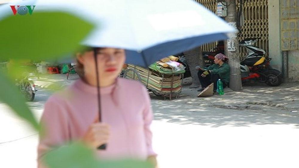 Đỉnh nắng nóng, Hà Nội, kéo dài, 5 ngày