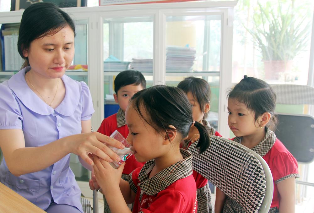Bắc Giang, Thi xây dựng môi trường,  giáo dục lấy trẻ làm trung tâm có 3 trường giành giải nhất