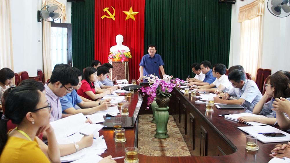 Lạng Giang cần quan tâm đầu tư xây dựng quy trình ISO tại cấp xã