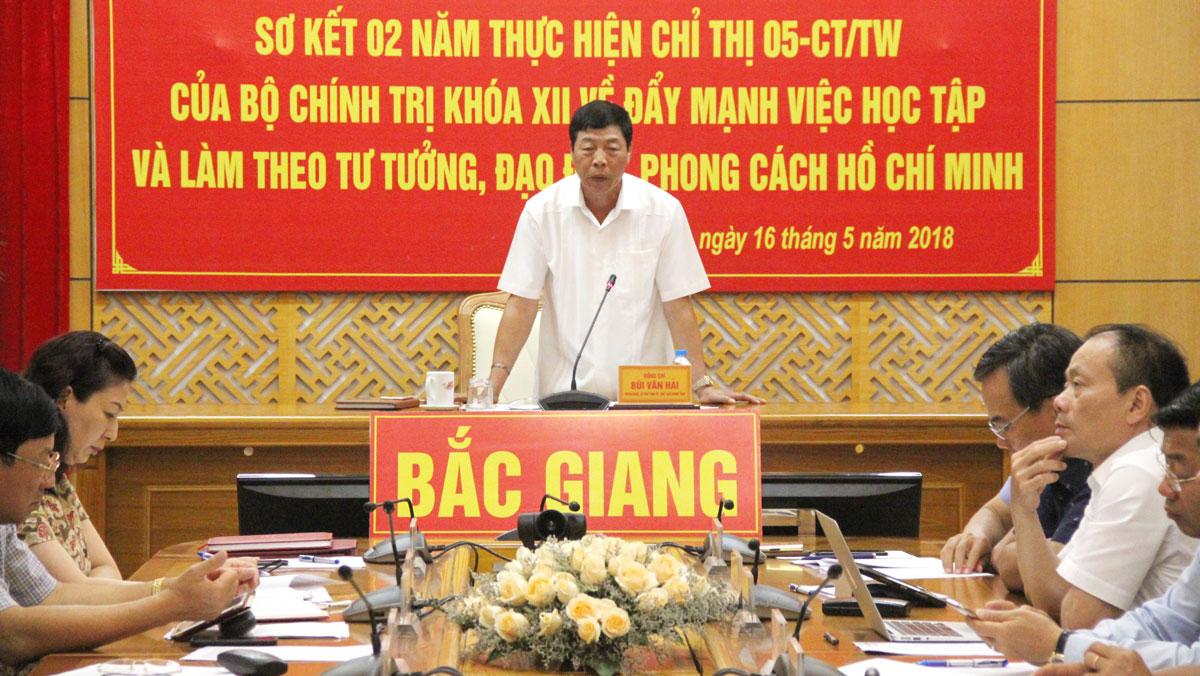 Tiếp tục đẩy mạnh việc học tập và làm theo tư tưởng, đạo đức, phong cách Hồ Chí Minh
