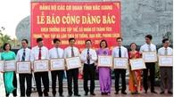 Đảng ủy Các cơ quan tỉnh tuyên dương 95 tập thể, cá nhân điển hình học tập và làm theo Bác