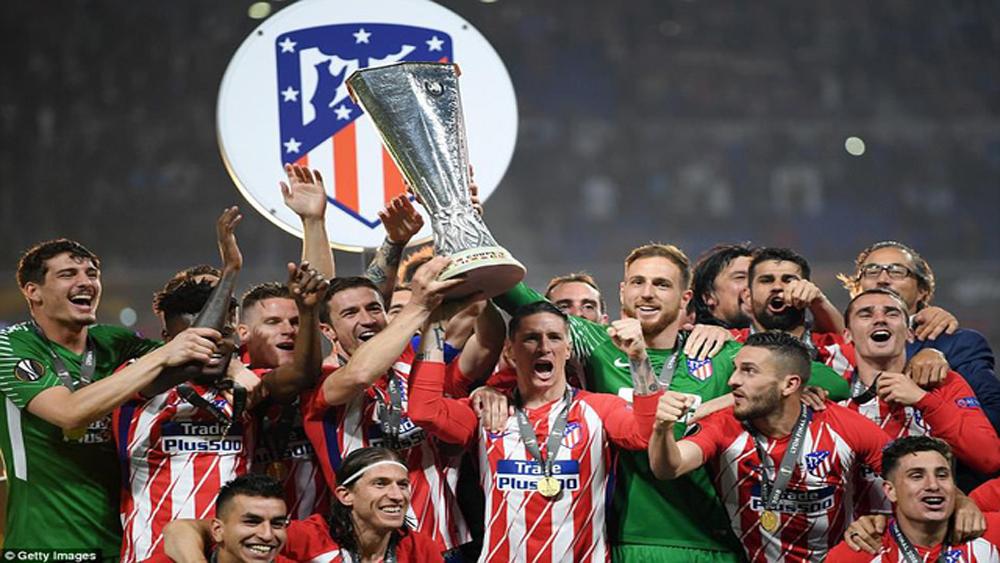 Thắng đậm Marseille, Atletico vô địch Europa League