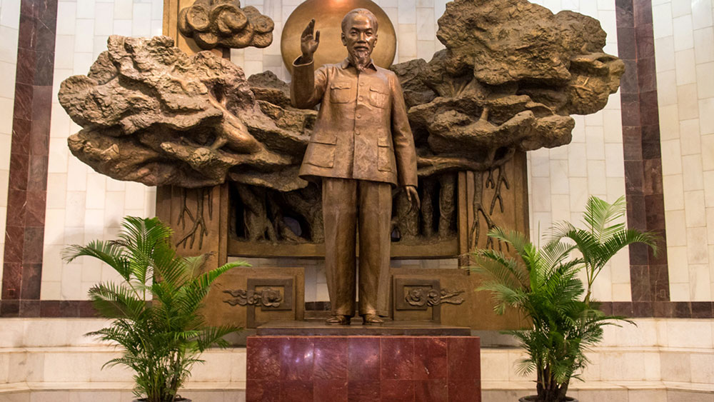 Ho Chi Minh Museum, Fragrant lotus, heart of the capital, important historical, cultural relic, relic site,  beloved leader, outstanding soldiers, national liberation movement