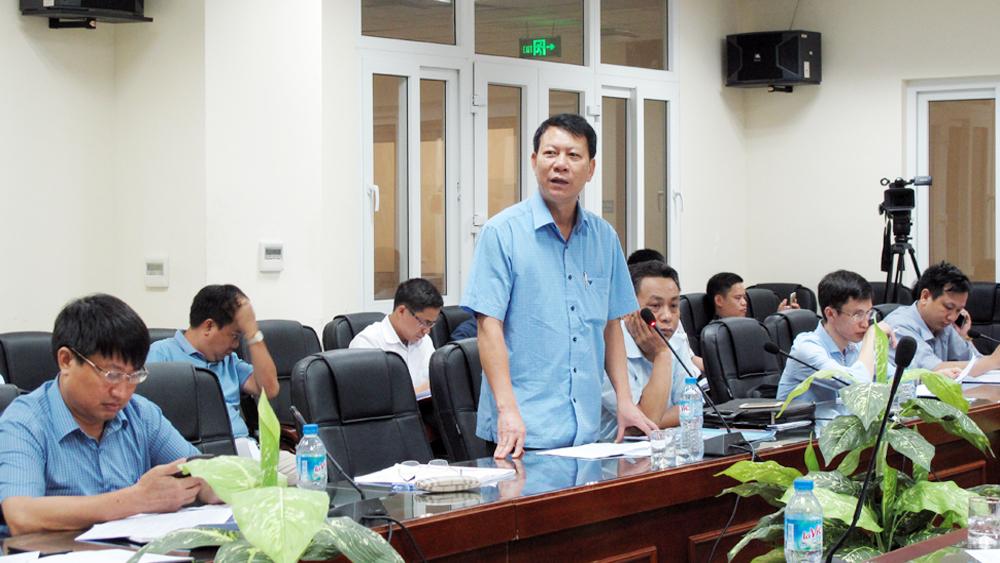 Cho ý kiến vào dự thảo báo cáo sơ kết Nghị quyết về phát triển giao thông