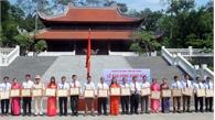 Lục Nam: Báo công dâng Bác tại Khu di tích lịch sử K9