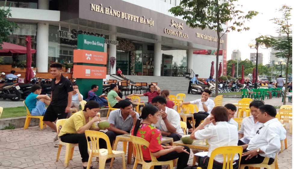 ứng phó với nắng nóng, Bắc Giang
