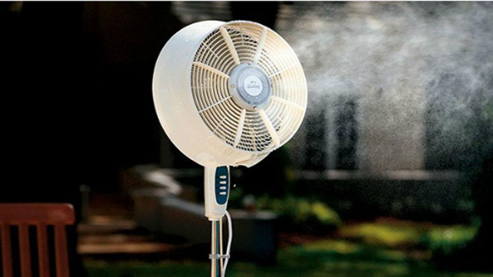 Lựa chọn quạt phun sương hay quạt điều hòa cho mùa nóng