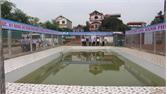 Đẩy nhanh tiến độ xây dựng bể bơi trong trường học