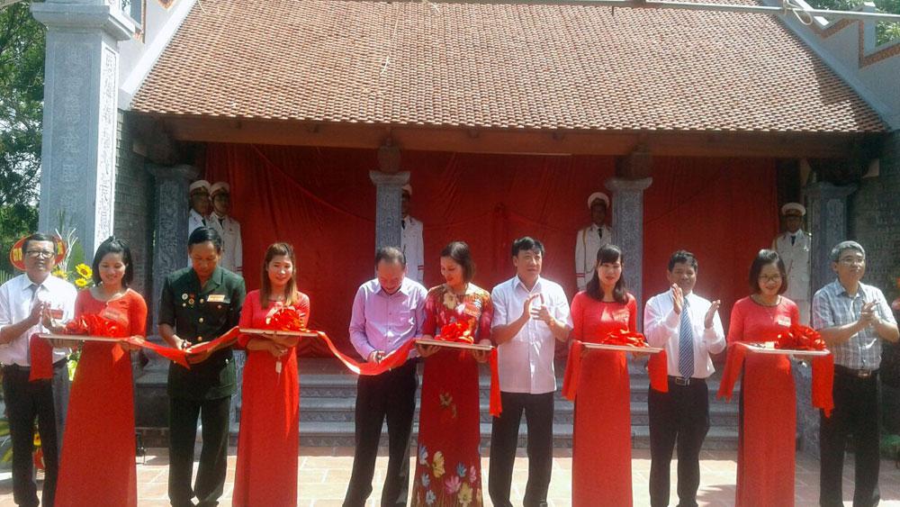 Khánh thành Nhà thờ Chủ tịch Hồ Chí Minh tại xã Tiến Dũng