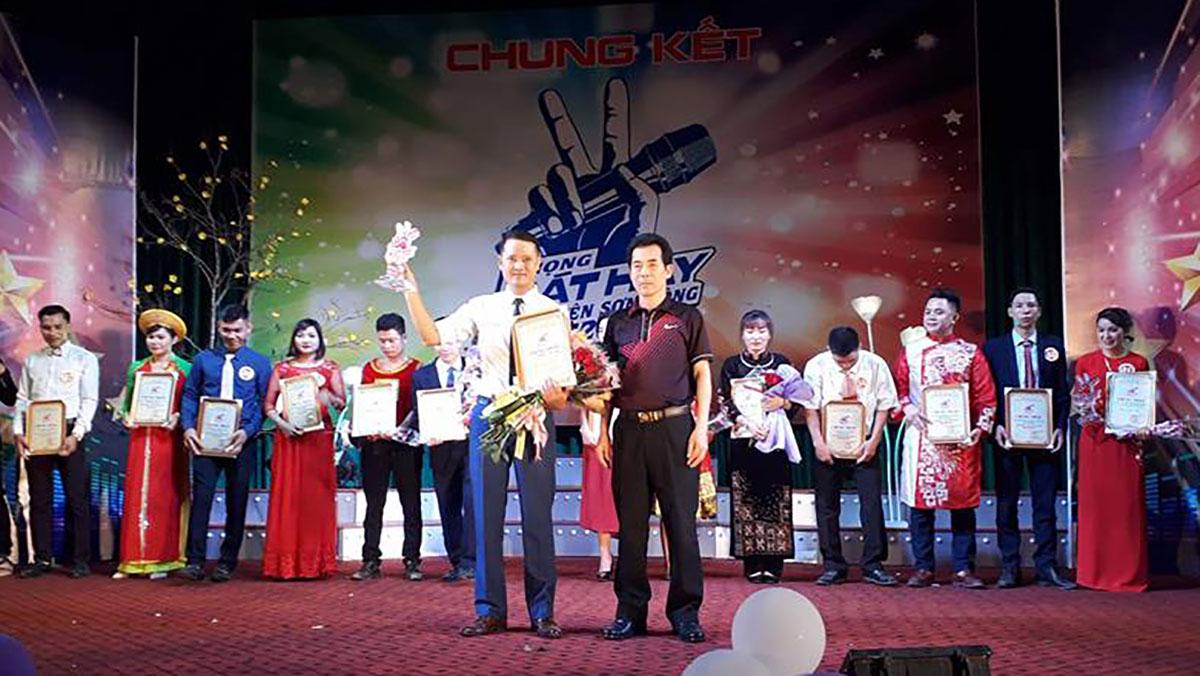 """Chung kết Hội thi """"Giọng hát hay huyện Sơn Động"""" năm 2018"""