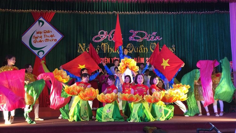 Hội diễn nghệ thuật quần chúng huyện Yên Dũng