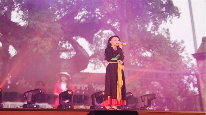 Bac Giang's image promoted at Miss DAV 2018