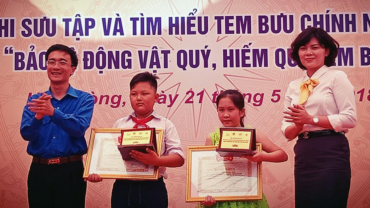 Bắc Giang có 2 giải Nhất về sưu tập, tìm hiểu Tem bưu chính