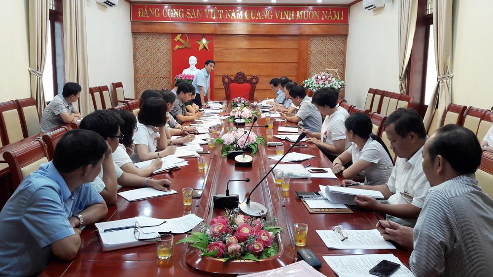 Khảo sát việc mua và đọc báo, tạp chí của Đảng ở Lạng Giang