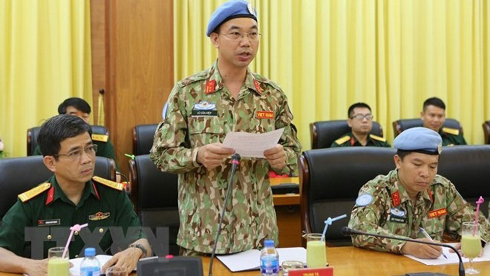Vietnam sends seven more officers to join UN peacekeeping missions