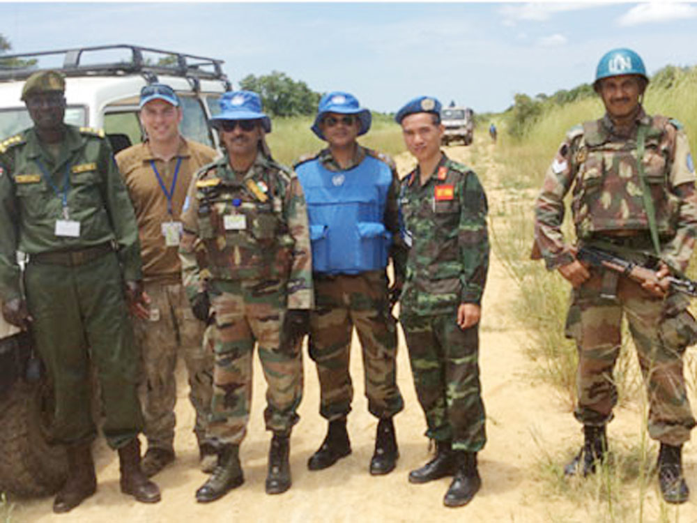 Vietnam, seven officers, United Nation, peacekeeping missions, additional military officers, peacekeeping activities, host countries