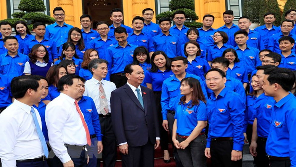 Chủ tịch nước, gặp mặt, đại biểu, thanh niên Khối các cơ quan Trung ương