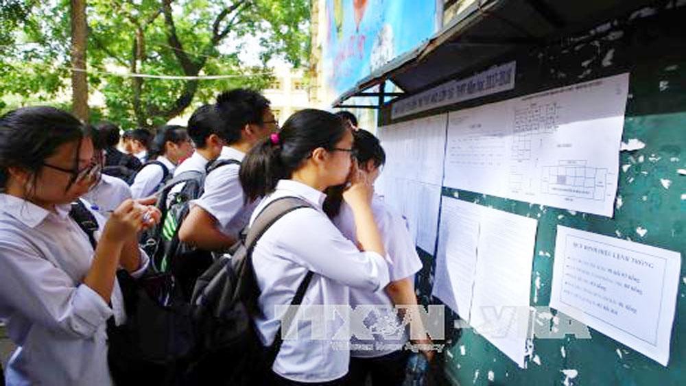 Bộ Giáo dục và Đào tạo thu hồi Đề án đổi mới thi THPT quốc gia và tuyển sinh đại học