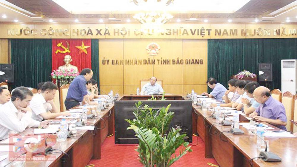 Bac Giang provincial Chairman urges to facilitate enterprises' development