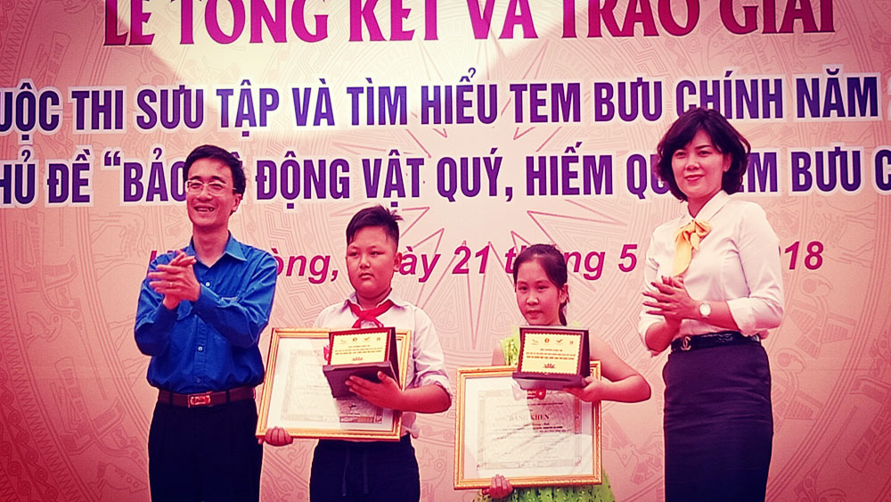 Bac Giang  wins two first prizes at postage stamp contest