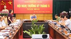 Ngày làm việc thứ hai hội nghị thường kỳ UBND tỉnh: