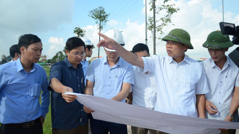 HĐND tỉnh, giám sát tại Yên Dũng, công tác đầu tư, xây dựng