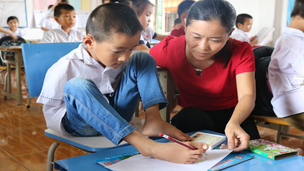 Hơn 90% trẻ khuyết tật được theo học hòa nhập
