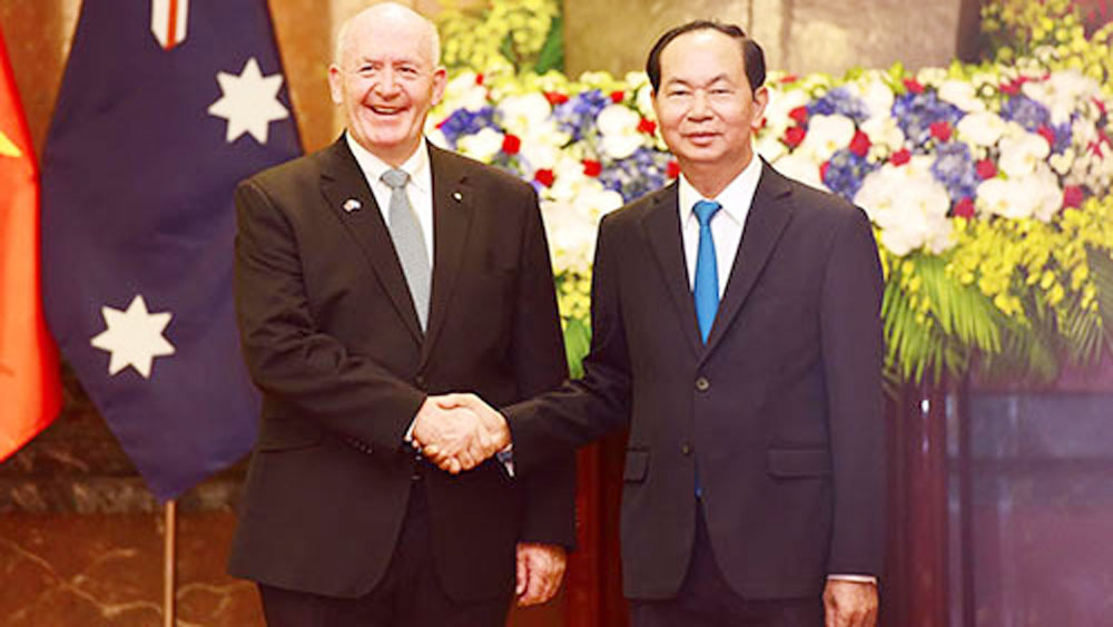 Vietnam, Australia share concerns over regional maritime security