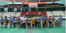Khai mạc Giải vô địch đá cầu tỉnh Bắc Giang năm 2018