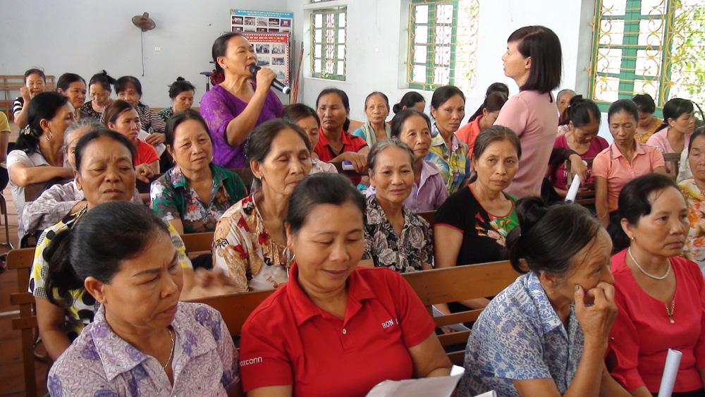 Trang bị kiến thức bảo vệ môi trường cho hội viên phụ nữ