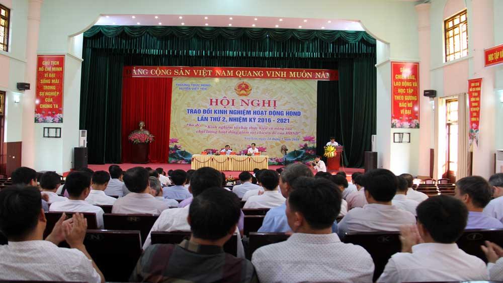 Hội nghị trao đổi kinh nghiệm tổ chức thực hiện và nâng cao chất lượng hoạt động giám sát chuyên đề