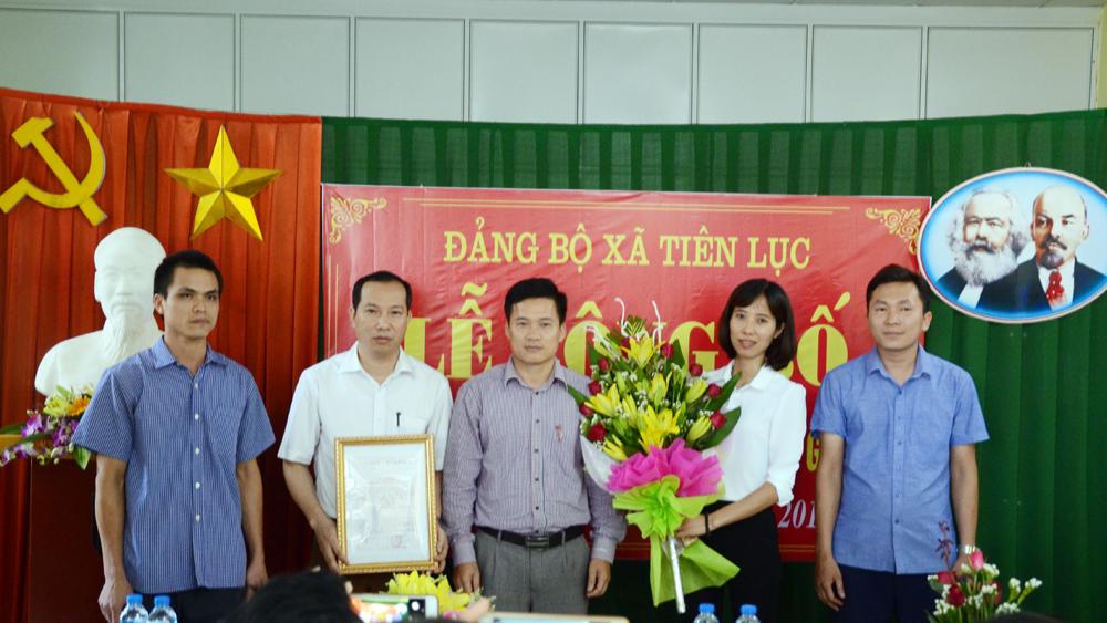 Thành lập Chi bộ 18-Công ty May Gazico (Lạng Giang)