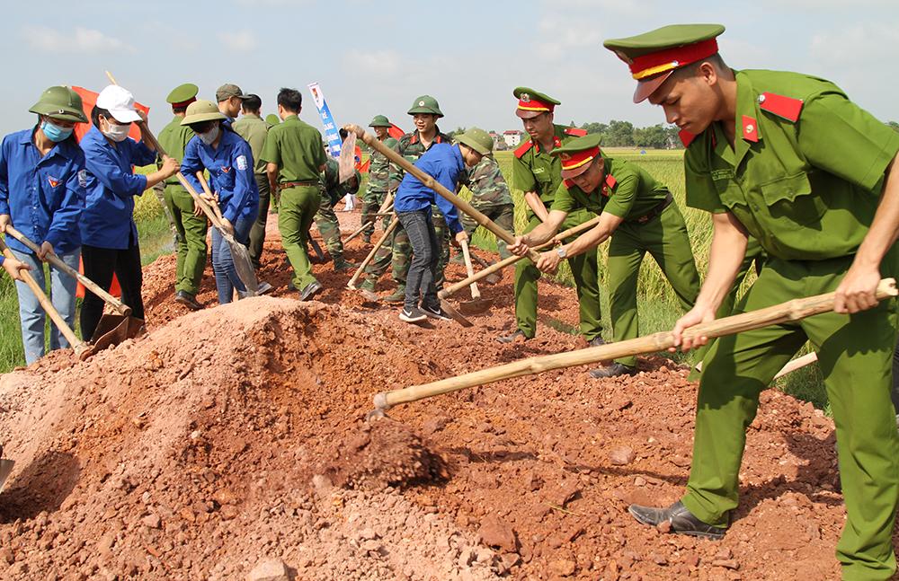 Tuổi trẻ Bắc Giang sáng tạo, tình nguyện vì cộng đồng