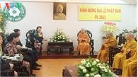 Chủ tịch Quốc hội Nguyễn Thị Kim Ngân chúc mừng Đại lễ Phật đản