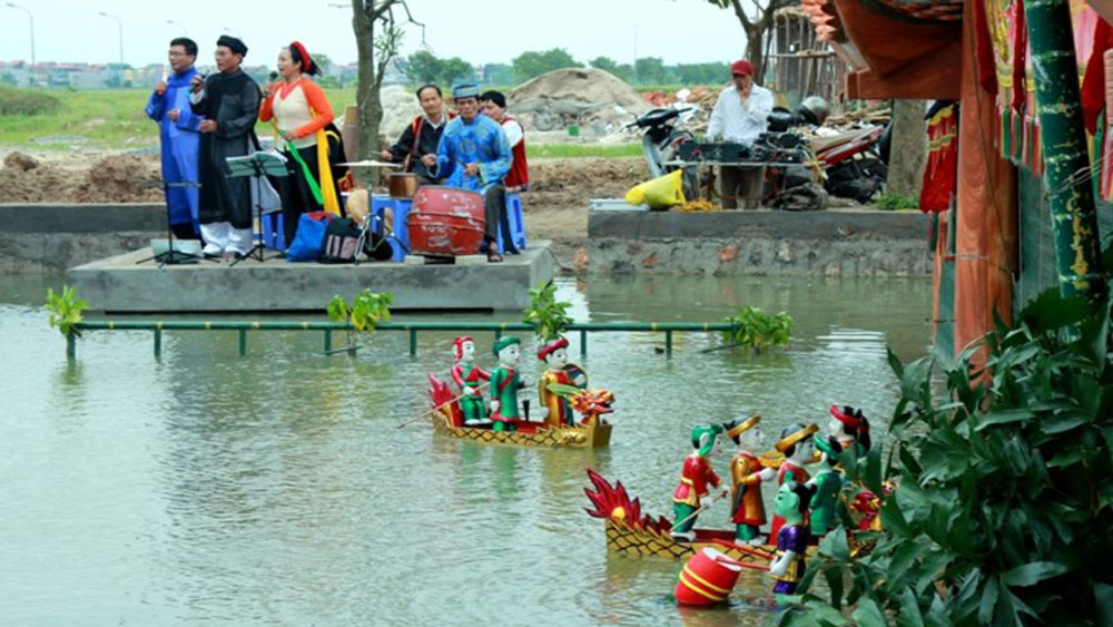 New vitality of Dao Thuc water puppetry
