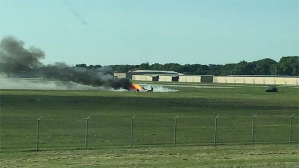Rơi máy bay tư nhân tại Mỹ, 2 người thương vong