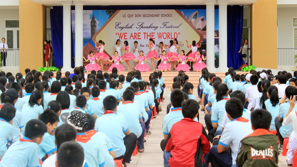 Tuyển 134 học sinh vào Trường THCS Lê Quý Đôn