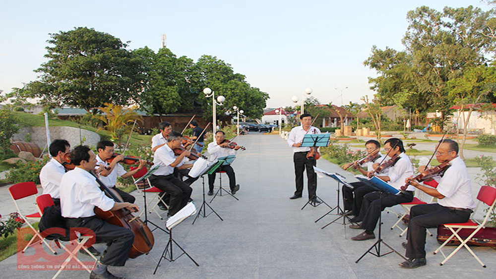 "Music composition camp themed ""Land and people of Bac Giang"" launched"