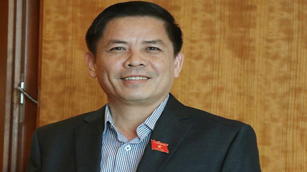 """Bộ trưởng Bộ Giao thông-Vận tải Nguyễn Văn Thể lần đầu ngồi """"ghế nóng"""" trả lời chất vấn"""