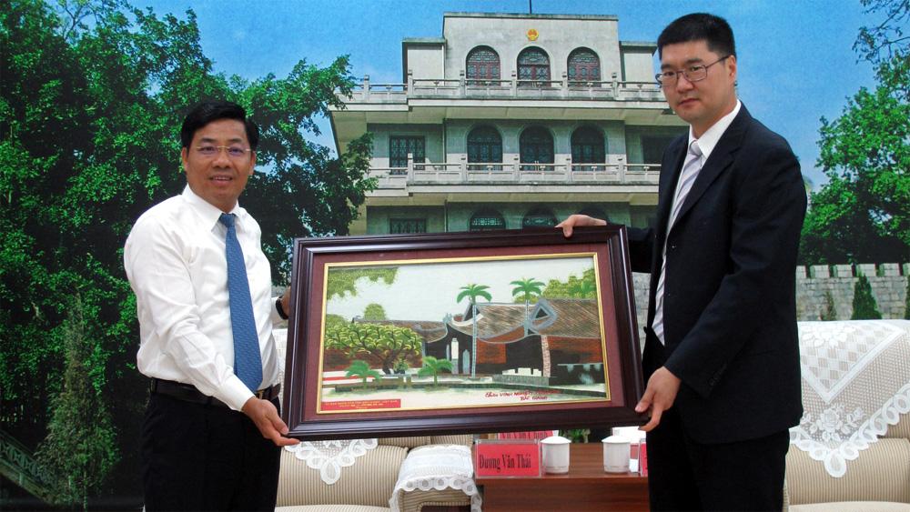 Tăng cường hợp tác phát triển kinh tế giữa Bắc Giang và thị Bằng Tường (Trung Quốc)