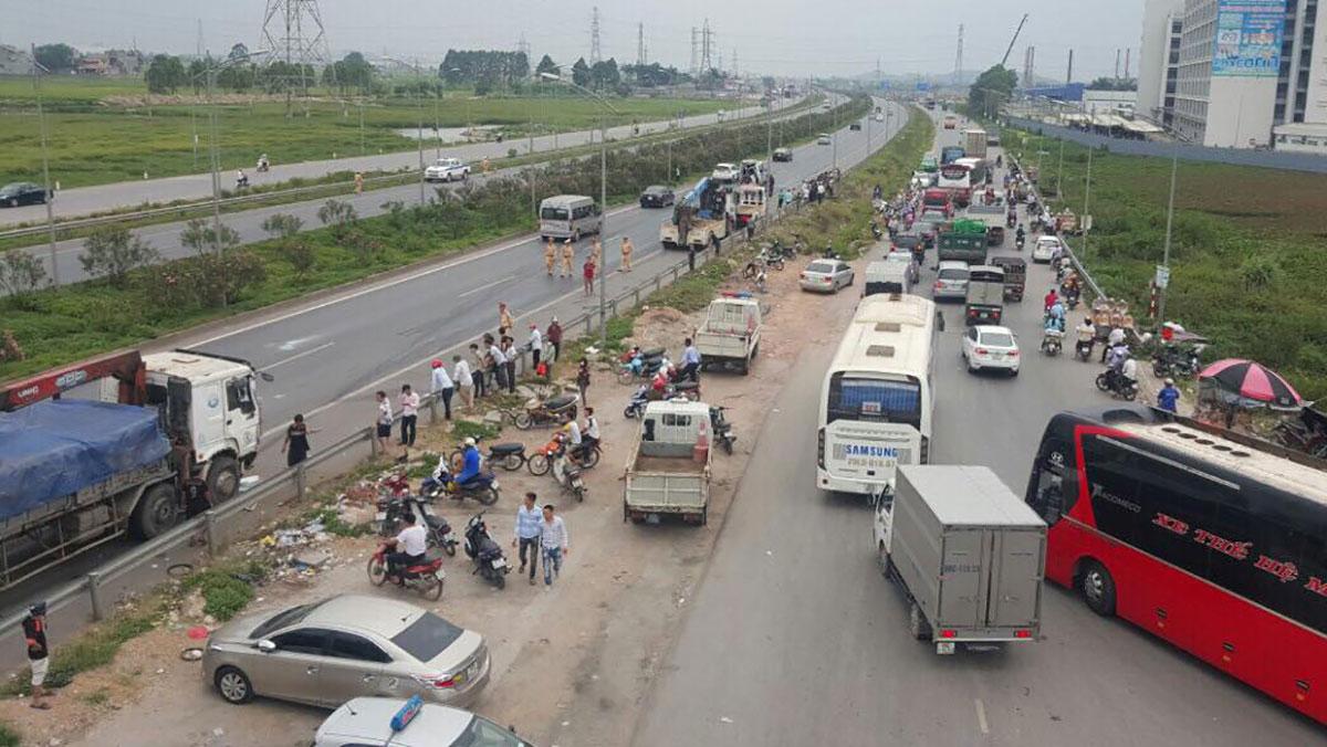 Thông tin thêm về vụ TNGT trên cao tốc Hà Nội - Bắc Giang: 5 nạn nhân vẫn đang điều trị tại bệnh viện