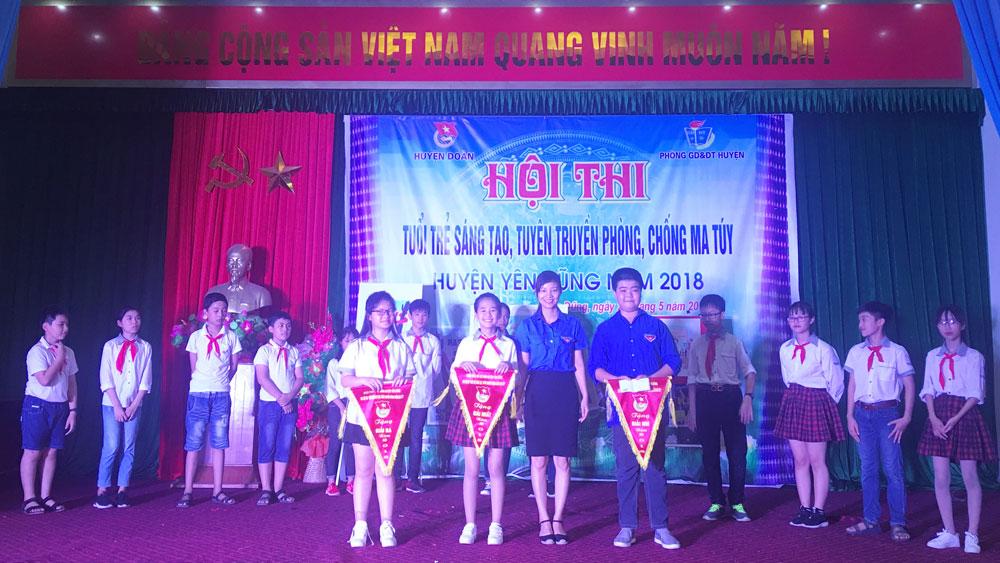 """Hội thi """"Tuổi trẻ sáng tạo tuyên truyền phòng, chống ma túy"""""""