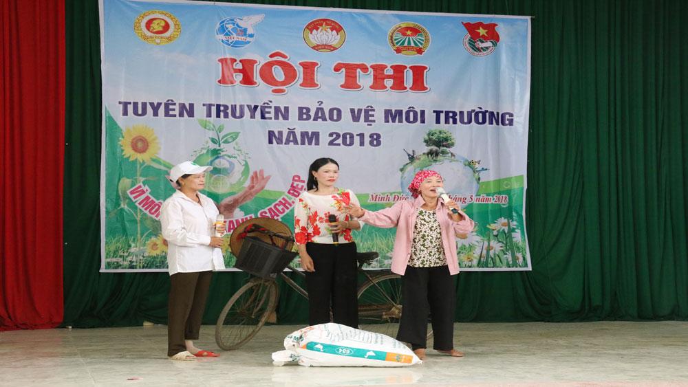 Hội thi tuyên truyền bảo vệ môi trường
