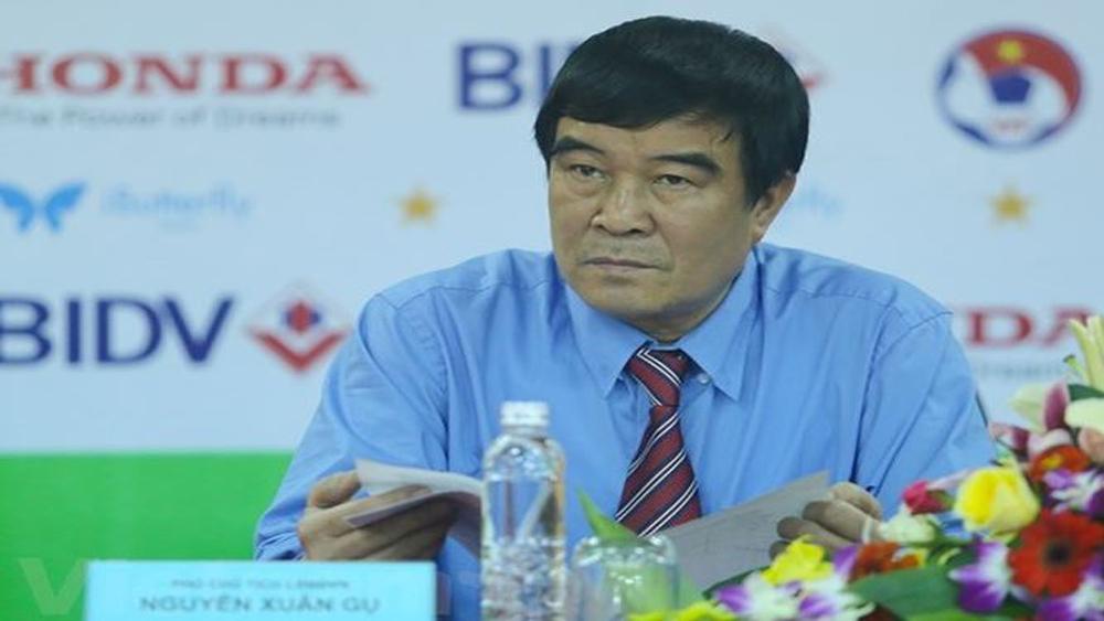 Phó Chủ tịch VFF Nguyễn Xuân Gụ từ chức, rút tranh cử khóa VIII