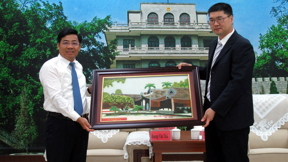 Bac Giang tightens cooperation of economic development with Pingxiang city