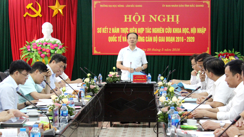 Bac Giang provincial People's Committee – Agriculture and Forestry University expand cooperation