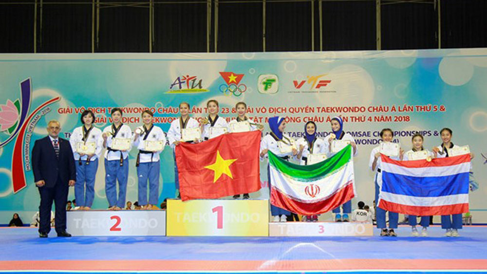 Vietnam ranked third at 5th Taekwondo Poomsae Championship
