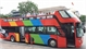 Double-decker bus hits Hanoi streets