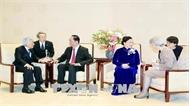 Chủ tịch nước Trần Đại Quang hội kiến Nhà vua Nhật Bản Akihito